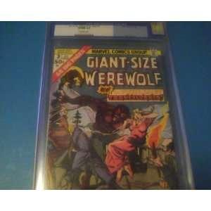 Size Werewolf By Night #3 Cgc 9.0 Marvel Comics Don Perlin art Books