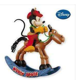 2010 HALLMARK Ornament Two Gun Mickey Mouse NIB