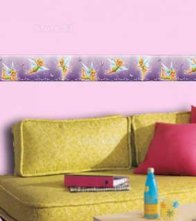 TINKERBELL Girls Room Wallpaper WALL BORDER Tinker Bell