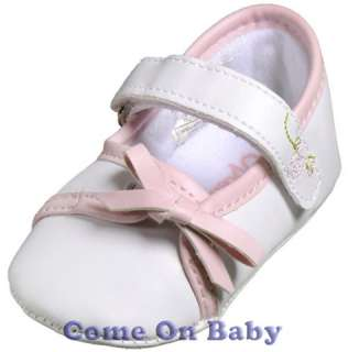 New Infant Girls Toddler Baby Mary Jane Shoes 0 6m US3