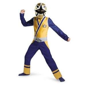 Samurai Gold Ranger Classic Child Costume Size 7 8 Toys & Games