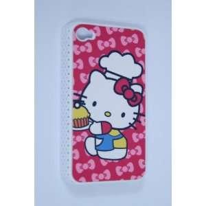 Iphone 4 Hello Kitty Hard Case Cover (Att Verizon