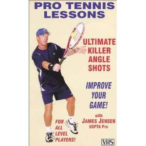 Pro Tennis Lessons Ultimate Killer Angle Shots [VHS