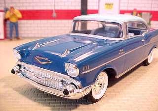 1957 Chevrolet BelAir Larkspur Blue/Harbor Blue 2DHT