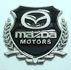 Side Silver color Decal Sticker Mazda Logo Chrome M (Fits RX 7