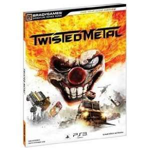 TWISTED METAL OFFICIAL STRATEGY GUIDE (VIDEO GAME
