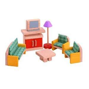 Plan Toys Living Room Doll House Accessories   Neo Modern