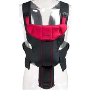 BabyBjorn BLACK RED Active Baby Sport Child Carrier: Baby