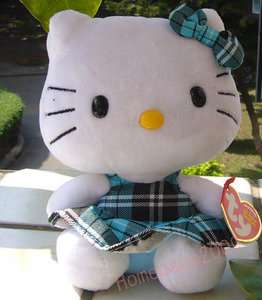 NEW ARRIVAL SANRIO ~HELLO KITTY~ 2011 Ty Checked VERSION MINI PLUSHIES
