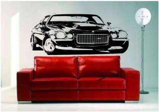 70 Chevrolet Camaro 454 Baldwin Motion Muscle Car Vinyl Wall Art Decal