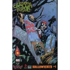 ICP INSANE CLOWN POSSE PENDULUM HALLOWICKED #1B COMIC JESSE MCCANN