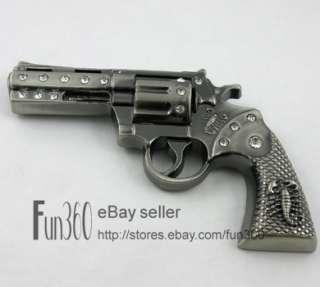 Revolver Pistol Handgun Gun Military Army Mens Metal Belt Buckle