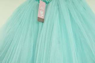 Skirt Dress Super Cute Green Chiffon Puff Tulle Skirt