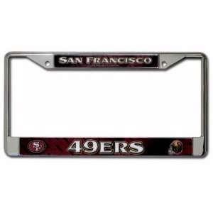 NFL San Francisco 49ers Car Truck SUV License Plate Frame