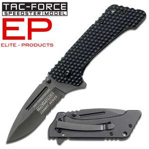 Series Striker Titanium Blade G10 Spring Assisted Folding Knife New