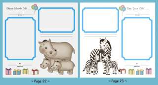 JUNGLE SAFARI BABY NURSERY WALL STICKERS DECALS BORDER