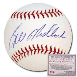 Bill Madlock Autographed/Hand Signed Rawlings MLB Baseball