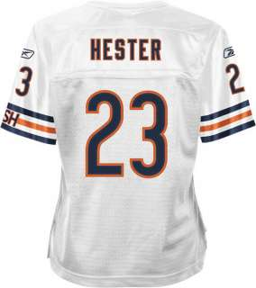 Bears Devin Hester womens NFL premier football jersey #23 white new