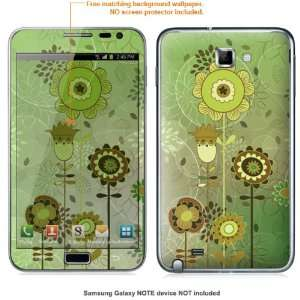 Protective Decal Skin Sticker for Samsung Galaxy Note case