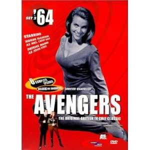 The Avengers 64, Set 2 Patrick Macnee, Diana Rigg, Honor