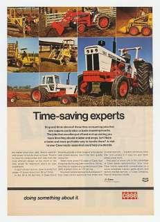 1974 Case Tractor Loader Backhoe Forklift Tractors Ad