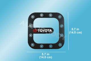 Toyota Fuel Door Sticker Decal Corolla Rav4 Matrix