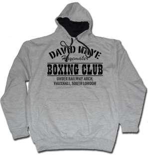 DAVID HAYE HOODIE HAYEMAKER BOXING CLUB HOODY  LOOPS