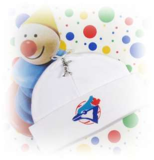 TORONTO BLUE JAYS ~ Baby Beanie Hat & BASEBALL CHARM