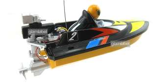 14cm Radio Remote Control RC Mini Racing Speed Boat