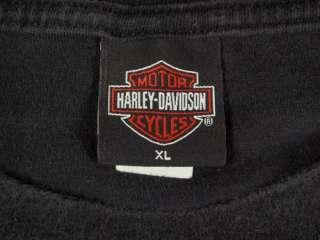 Harley Davidson Men XL T Shirt French Quarter Louisiana Motorcycle