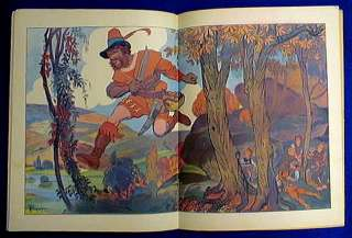 FRENCH CHILDRENS BOOK 1920 TOM THUMB PERRAULT TALES