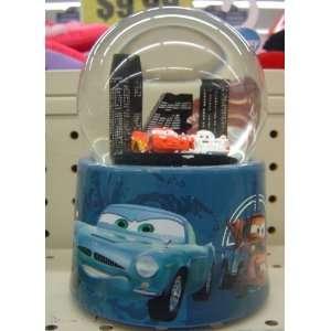 Disney Cars Lighning McQueen and Shu Todoroki Musical Snow Globe