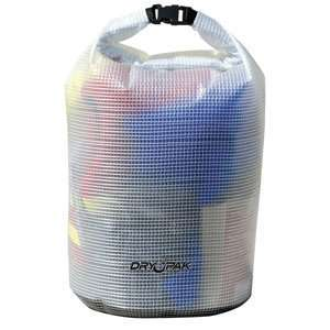 Dry Pak Roll Top Dry Gear Bag Clear