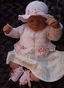 CROCHET PATTERN **TINY DANCER** 3 PIECE BABY BOLERO SET