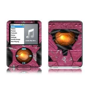 Chief Pink Design Protective Decal Skin Sticker for Apple iPod nano