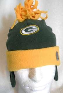 Green Bay Packers Winter Hat & Gloves INFANT   KIDS One size REEBOK