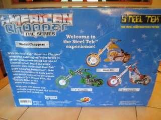 American Chopper The Series, Black Widow Bike Model Kit by Steel Tek