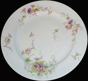 Vintage Theodore Haviland Limoges France Floral Pattern 10d Dinner