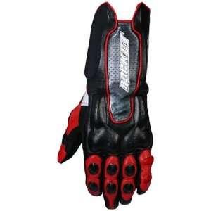 Joe Rocket Mens Speedmaster 7.0 Red and Black Motorcycle gloves   Size
