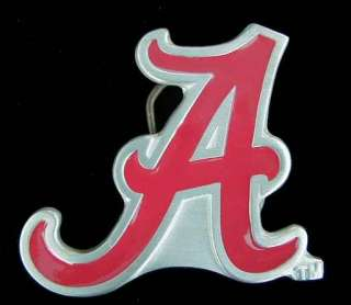 OF ALABAMA CRIMSON TIDE LOGO BELT BUCKLE BUCKLES NEW