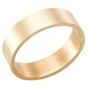Millimeters, Flat High Polished 18Kt Gold Wedding Band Ring on Sale