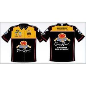 Jamie McMurray / Crown Royal Adult Black Pit Crew Shirt