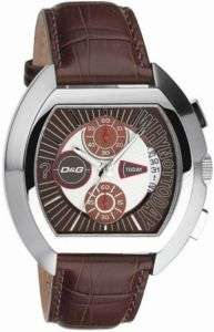 DOLCE&GABBANA BROWN LEATHER BAND MEN´S WATCH DW0213