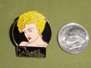 Metal Tour Hat Lapel Pin Badge Breathless Pinback Pop Free Ship