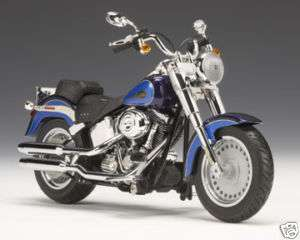 2009 Harley Davidson® FLSTF Fat Boy® Black Ice/Blue Ice
