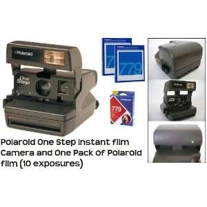 Polaroid One Step instant film Camera and One Pack of Polaroid film