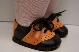 HALLOWEEN Saddle Oxford Shoes For 16 Terri Lee Doll♥