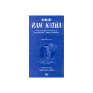 Concise Rama Katha Being the English Translation of Deen Ke Ram, Deen