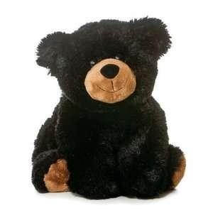 12 plush black bear stuffed fluffy teddy bear gift cute stuffed