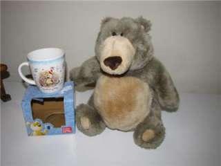 12 Gund Bear Aliwishes & NIB Gund Birthday Mug   Great Gift